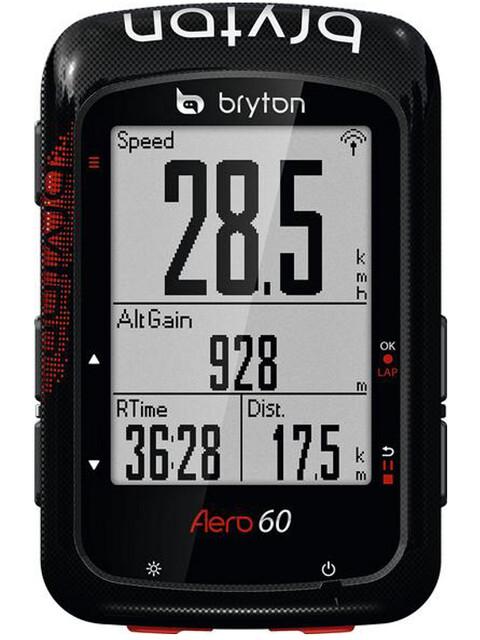 Bryton Aero 60 Licznik rowerowy czarny